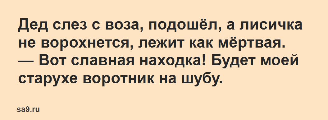 Русская народная сказка для детей – Лисичка сестричка и серый волк