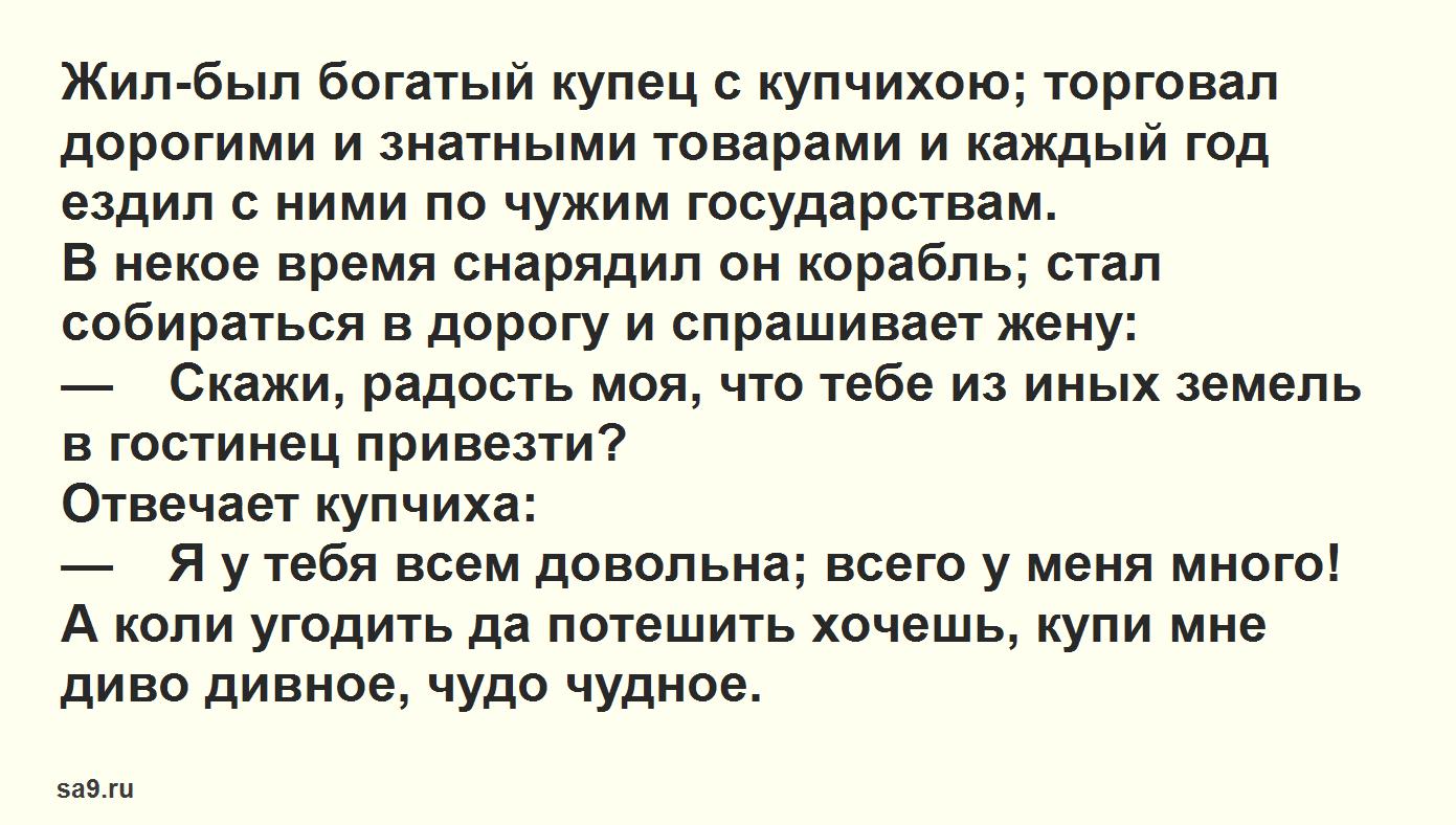 Диво дивное чудо чудное - русская народная сказка