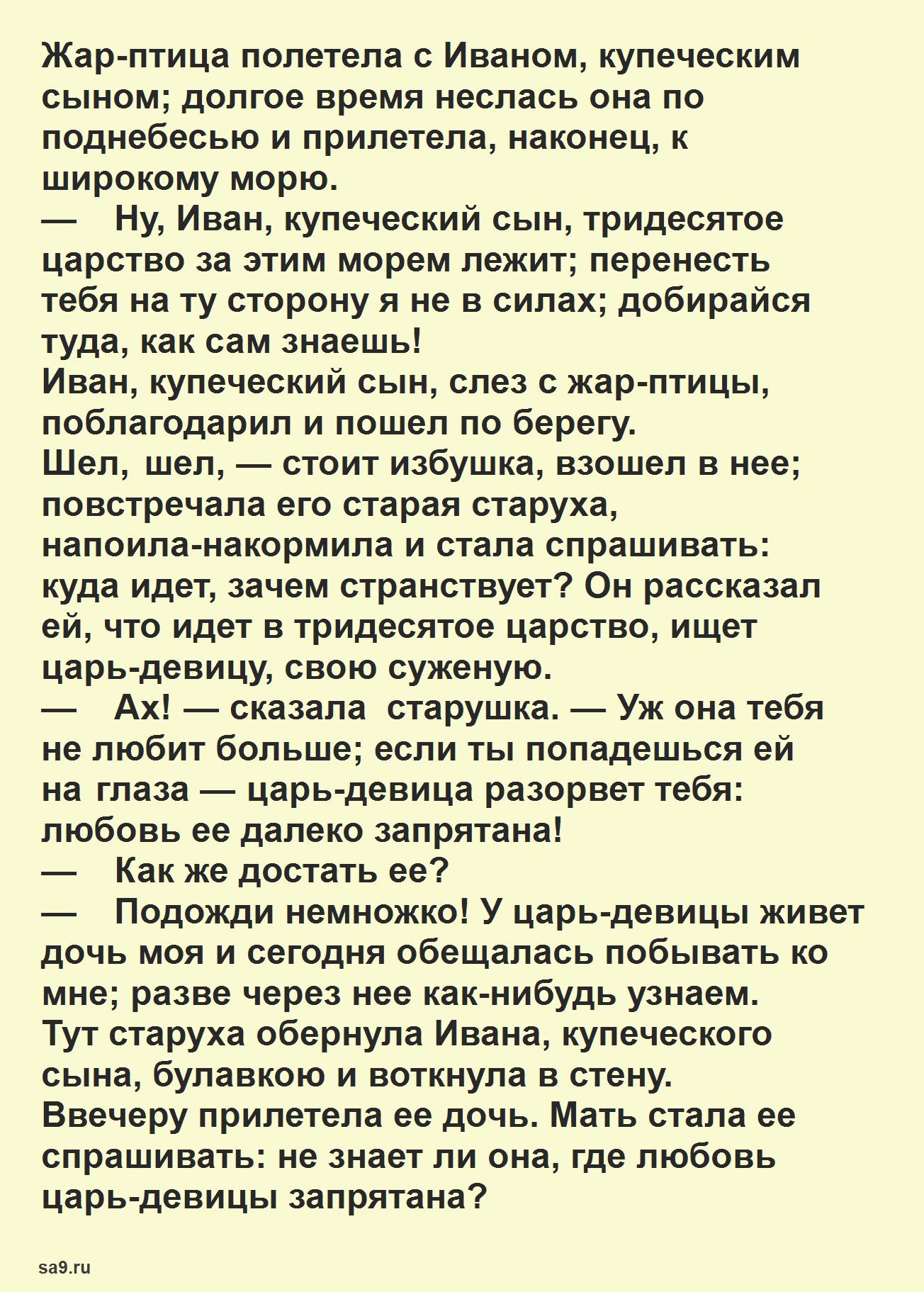 Русская народная сказка для детей – Царь девица