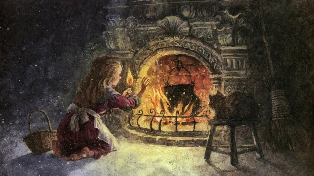 Сказка Девочка со спичками, Ганса Христиана Андерсена
