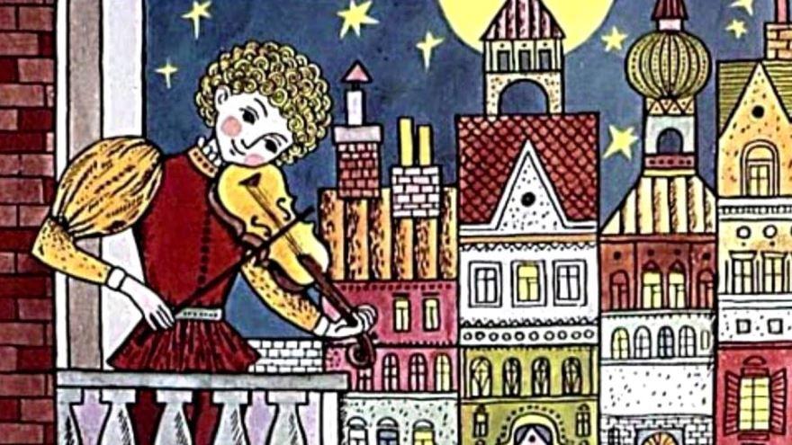 Сказка Золотой мальчик, Ганса Христиана Андерсена