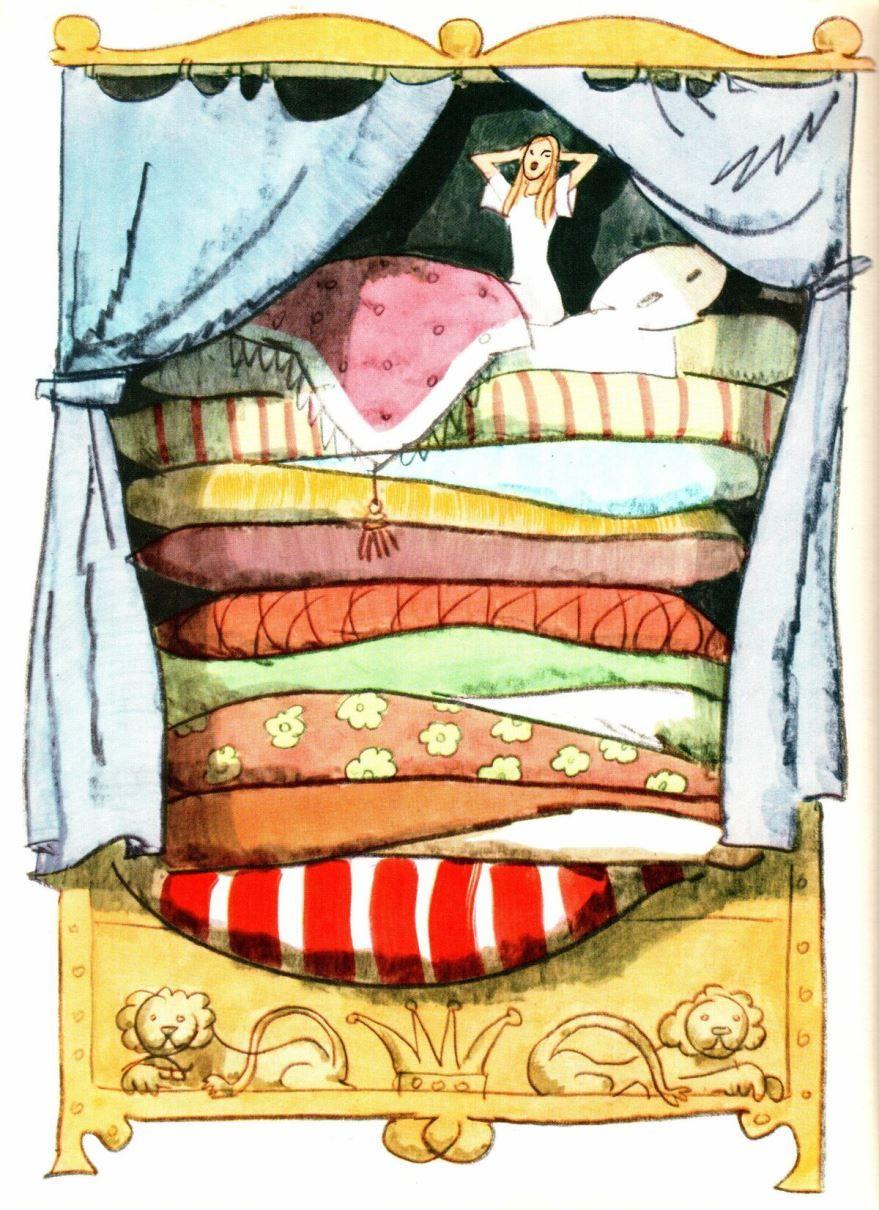 Сказка Принцесса на горошине, Ганса Христиана Андерсена