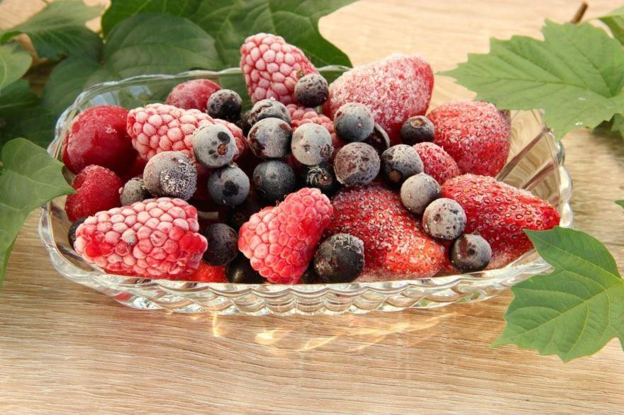 Фото замороженных ягод