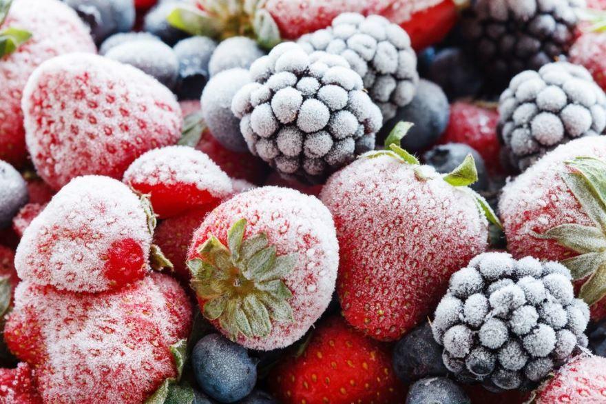 Замороженные ягоды фото