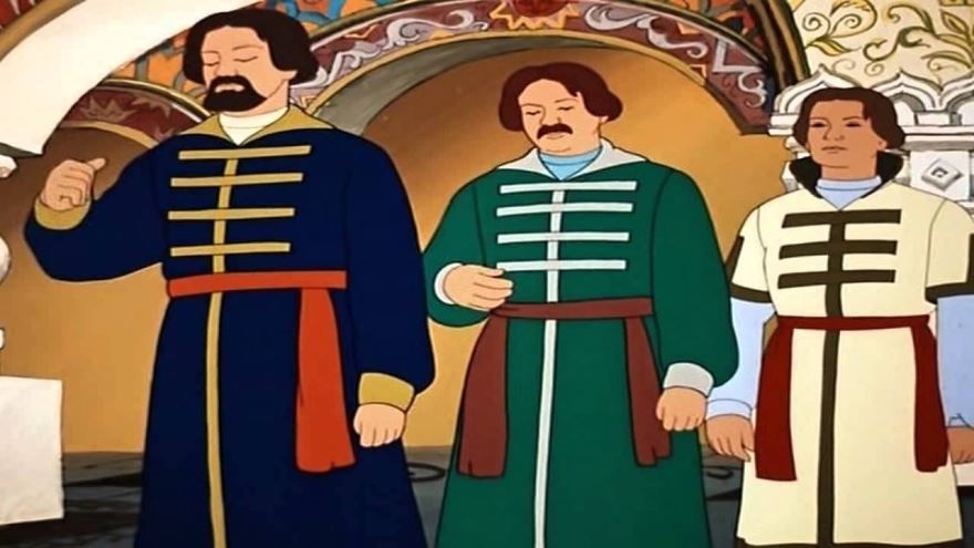 Сказка Три брата, братья Гримм