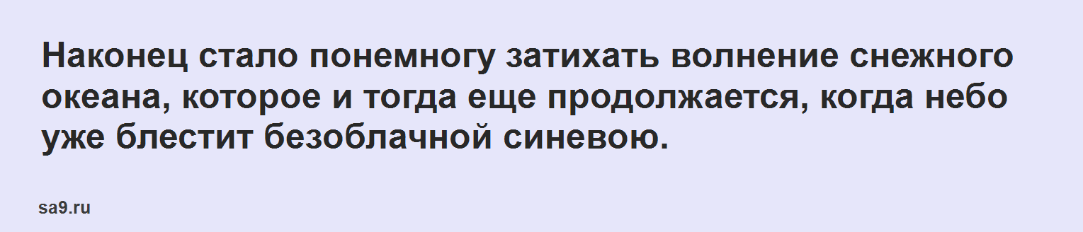 Рассказ Аксакова – Буран, читать онлайн бесплатно