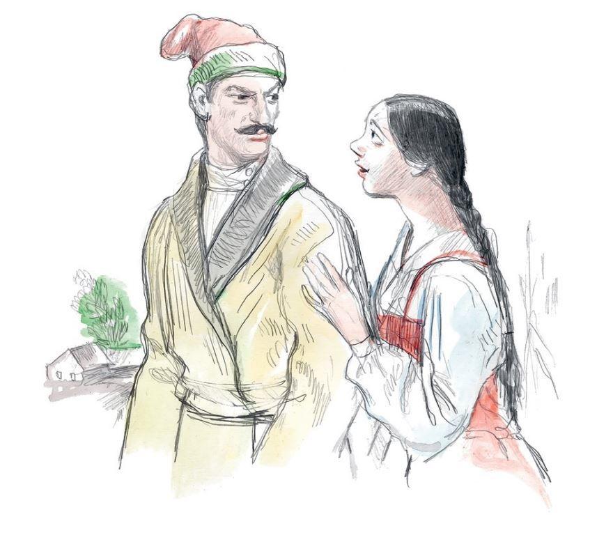Сказка Работник Емельян и пустой барабан, Толстого Льва Николаевича