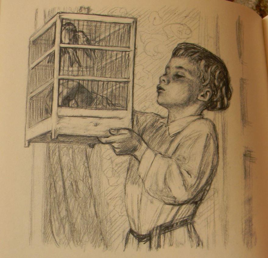 Рассказ Птичка, Толстого Льва Николаевича