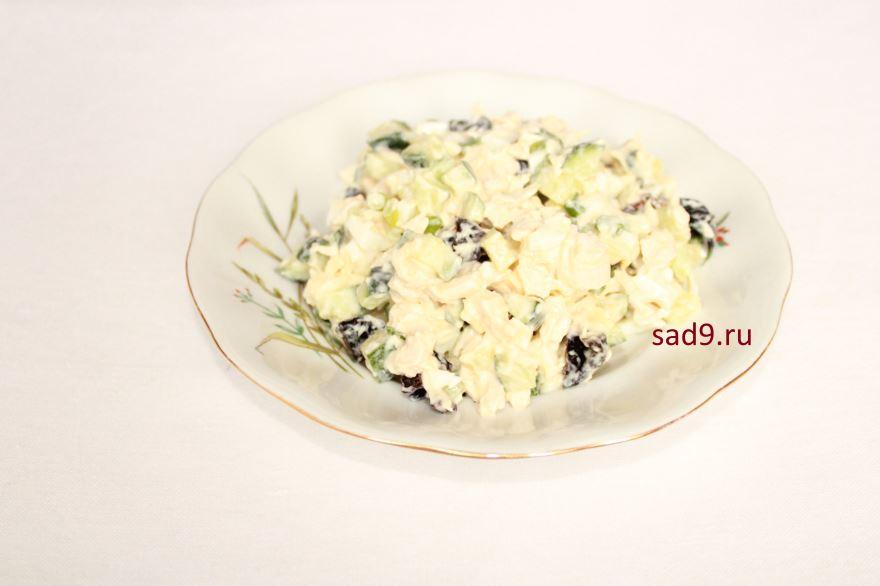 Рецепт и способ приготовления С курицей и черносливом, пошагово с фото