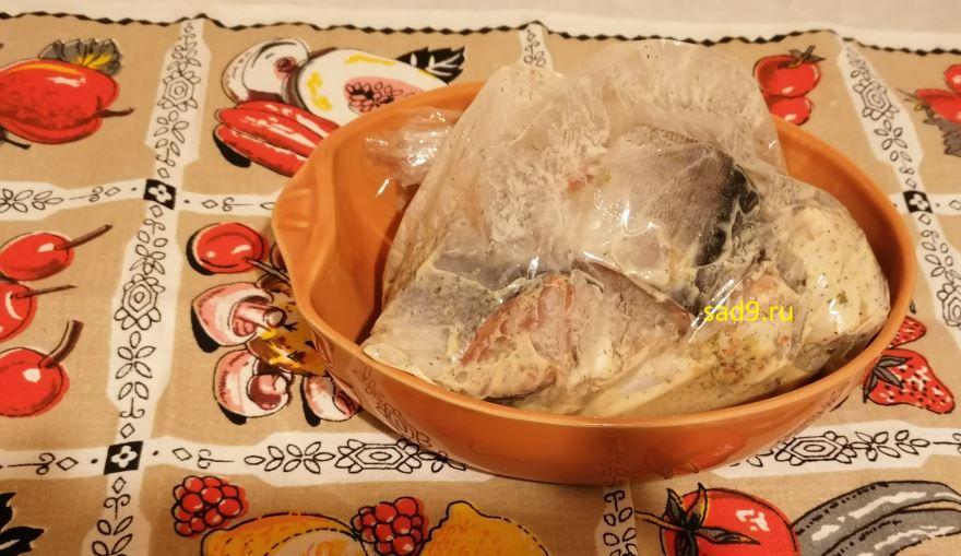 Рыба в духовке рецепт с фото