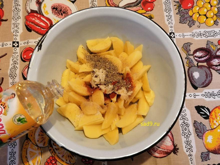 Картофель в духовке вкусный и простой способ приготовления в домашних условиях