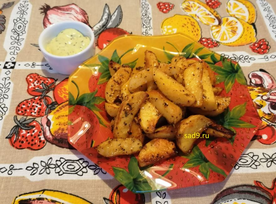 Картофель в духовке с фото пошагово