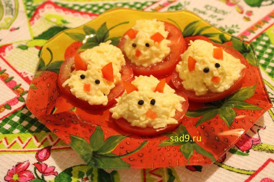 Простой, вкусный рецепт и способ приготовления закуска с сыром Мышки