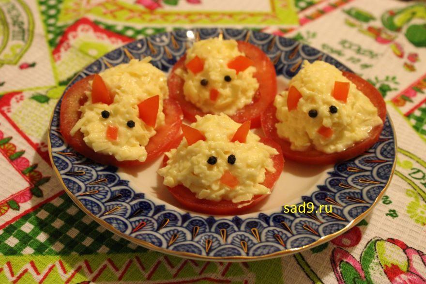 Закуска Мышки простой рецепт с фото пошагово