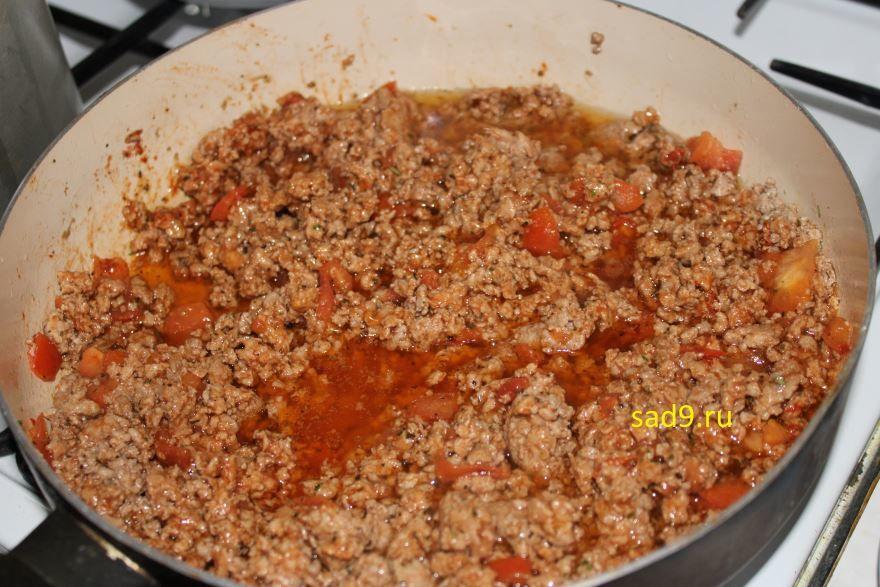 Приготовление спагетти с фаршем в домашних условиях с фото