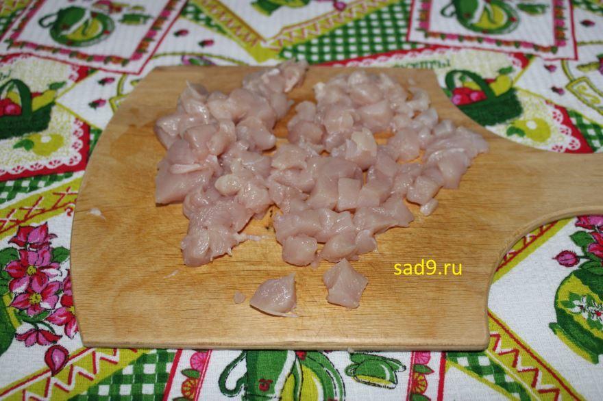 Жюльен из курицы сделанный в домашних условиях