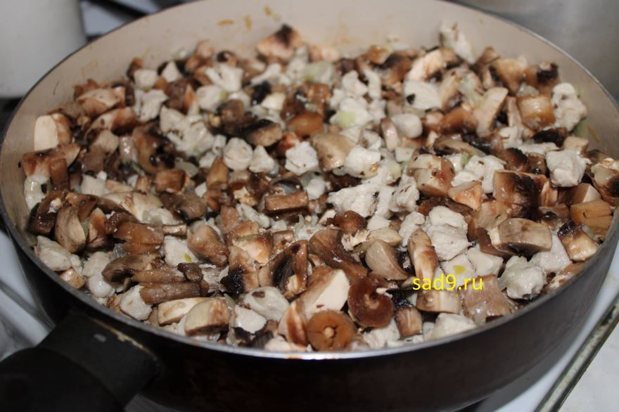 Жюльен из грибов вкусный и простой рецепт