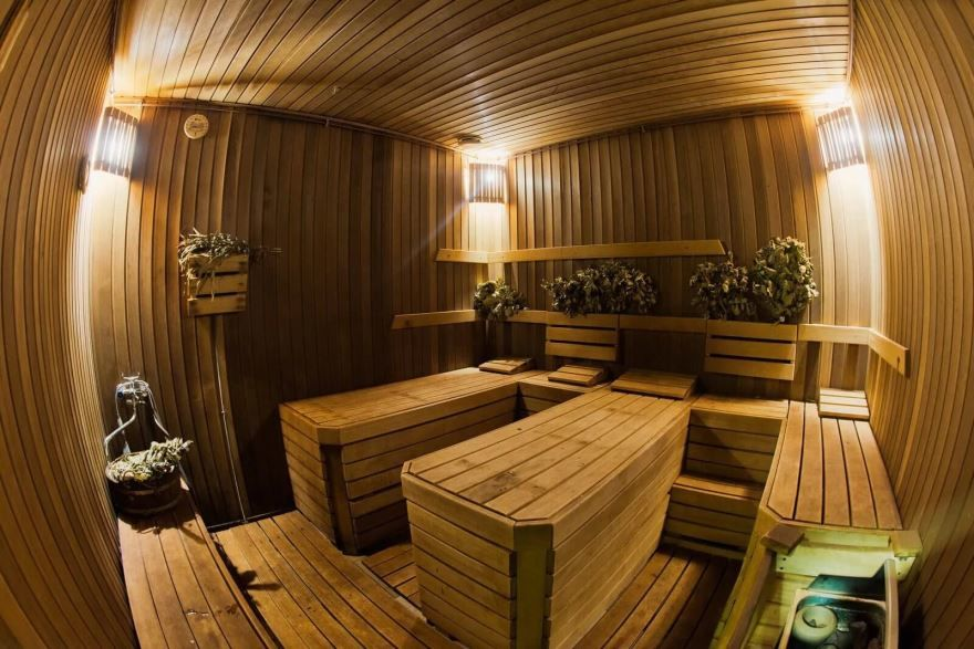 Фото бани изнутри