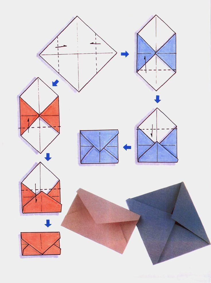 Как сделать конверт из бумаги для письма?