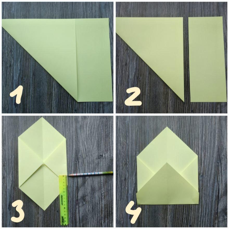 Сделать конверт своими руками из бумаги