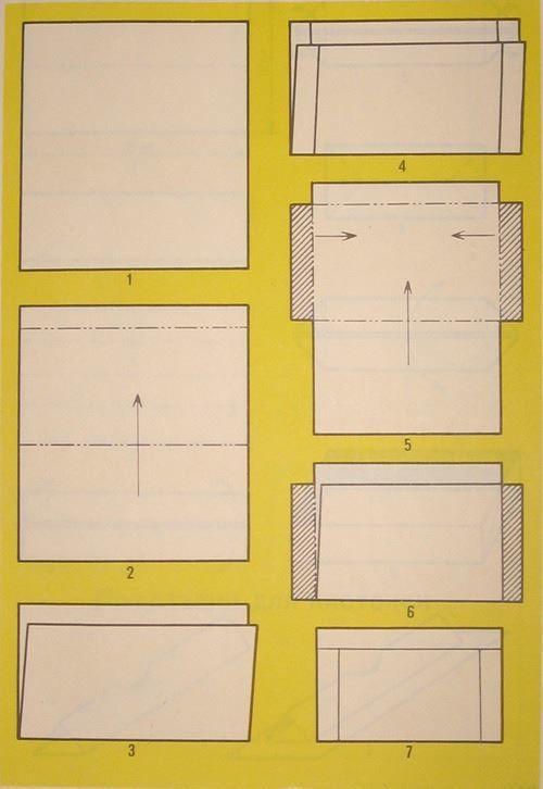 Конверт из бумаги сделанный своими руками