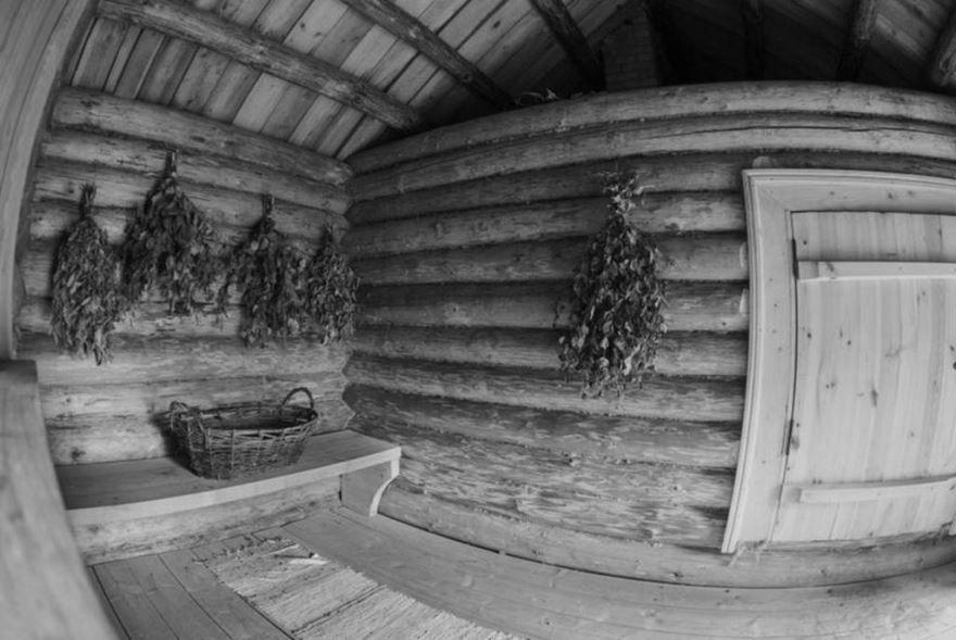 Русская, деревенская баня