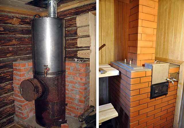 Печь для бани с водой
