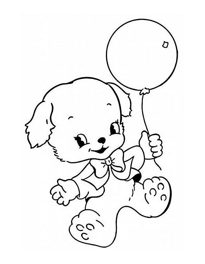 Раскраска для девочек 3 лет, распечатать бесплатно