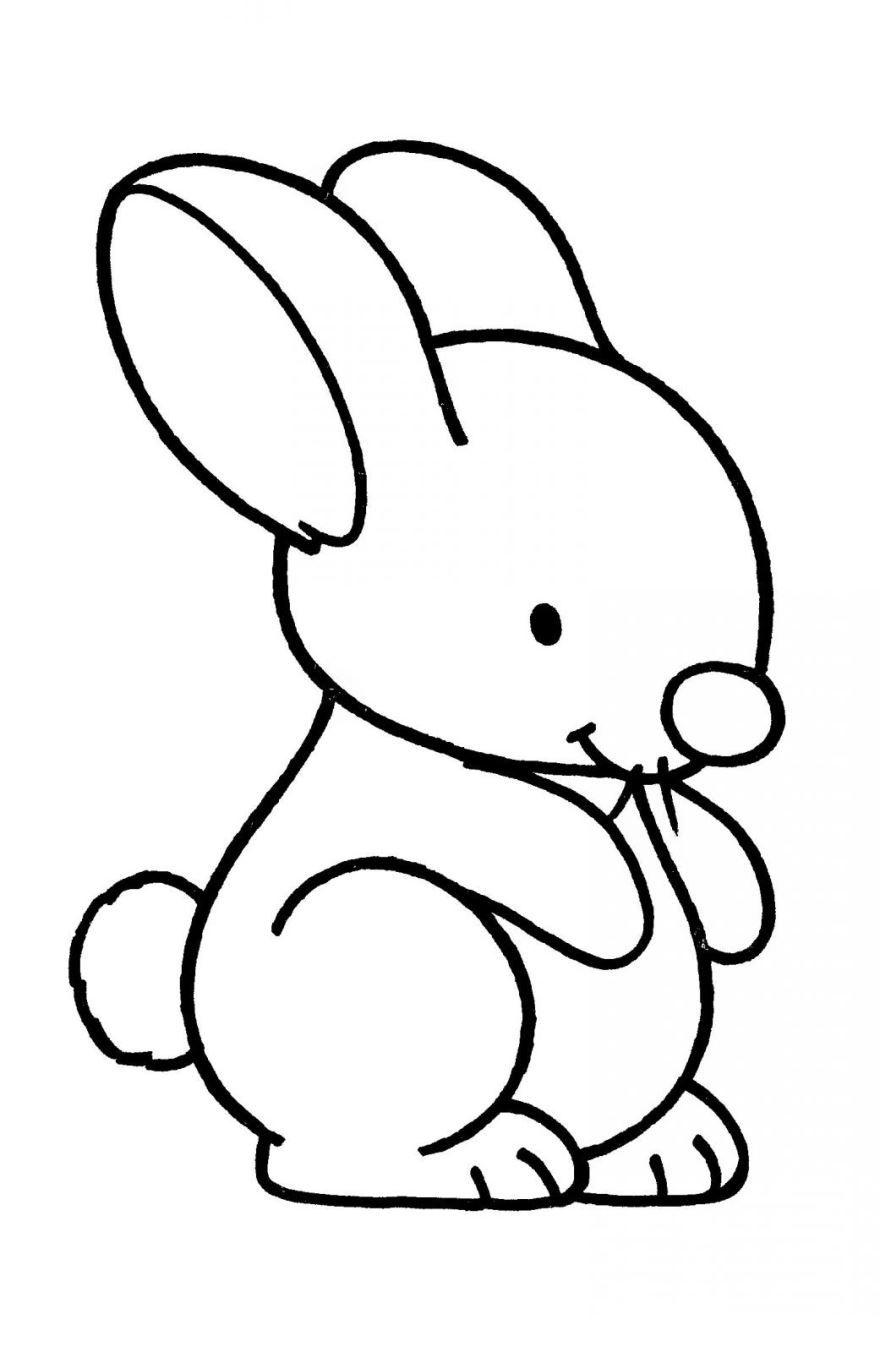 Раскраска для девочек 3 лет, скачать и распечатать бесплатно