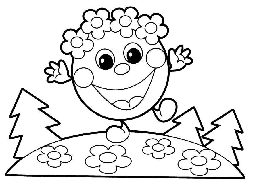 Раскраска для девочек 4 лет, распечатать бесплатно