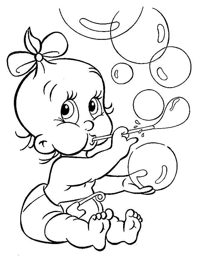 Легкая раскраска для девочки 4 лет, скачать и распечатать бесплатно