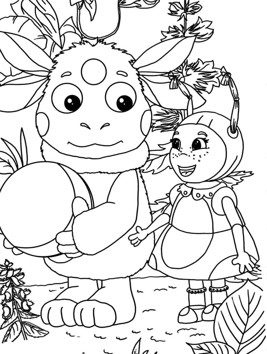 Раскраска для девочек 8 лет, скачать и распечатать бесплатно