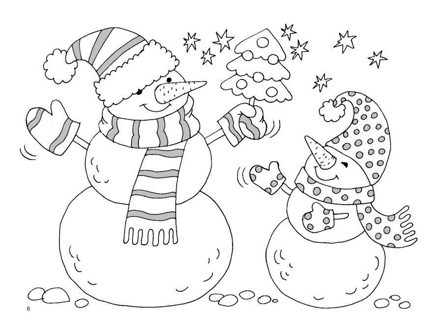 Новогодняя раскраска для девочки 8 лет, распечатать бесплатно