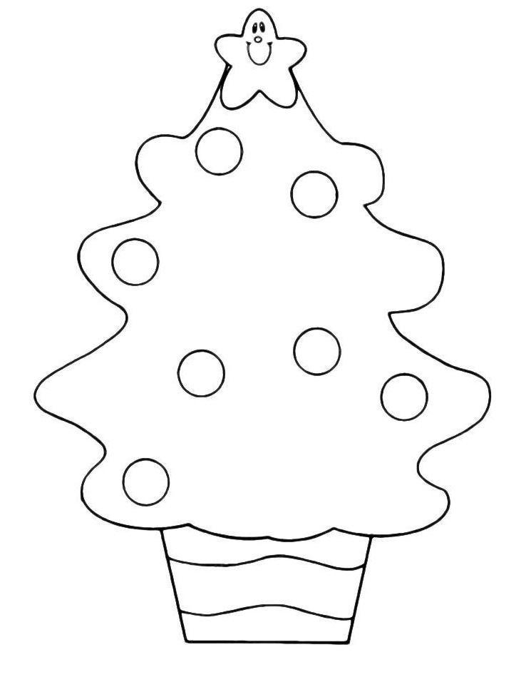 Новогодняя раскраска для мальчика 2 лет, распечатать бесплатно