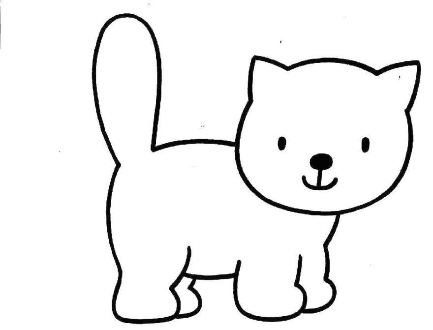 Легкая раскраска для мальчика 3 лет, распечатать бесплатно