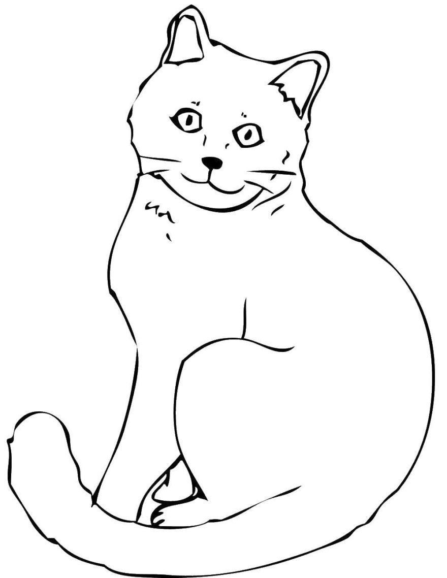 Раскраска для мальчиков 3 лет - животные