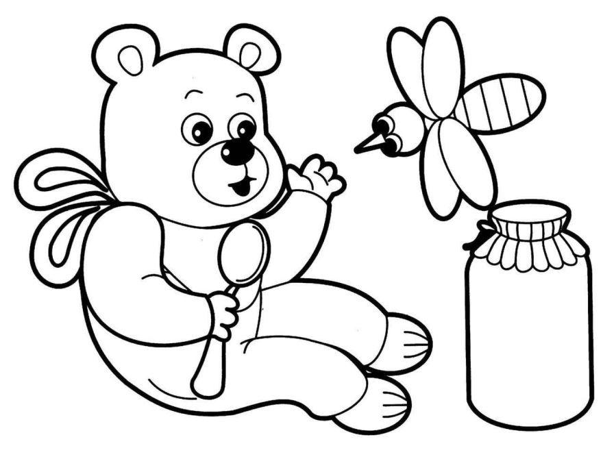 Раскраска для мальчика 4 лет, распечатать бесплатно