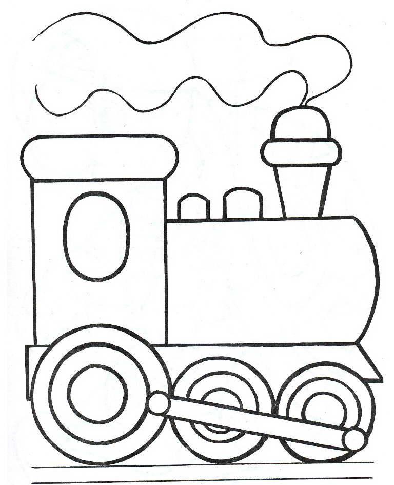 Легкая раскраска для мальчика 4 лет, распечатать бесплатно