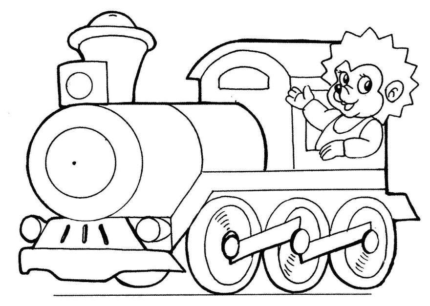 Раскраска для мальчиков 4 лет, распечатать