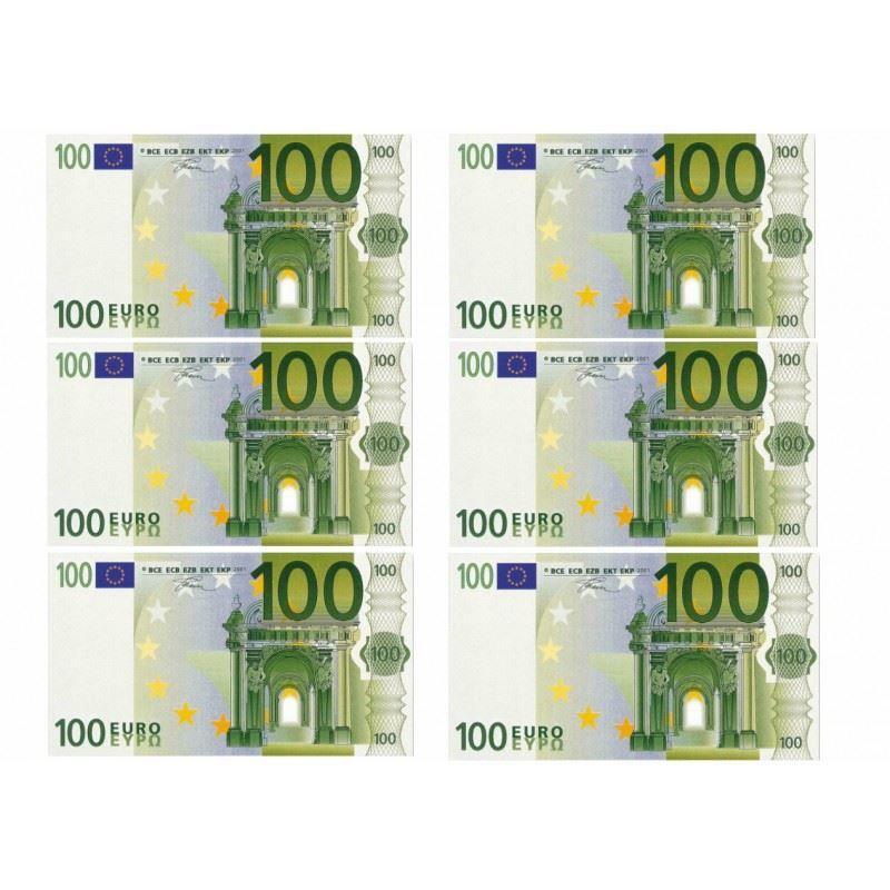 Деньги распечатать на принтере - 100 евро