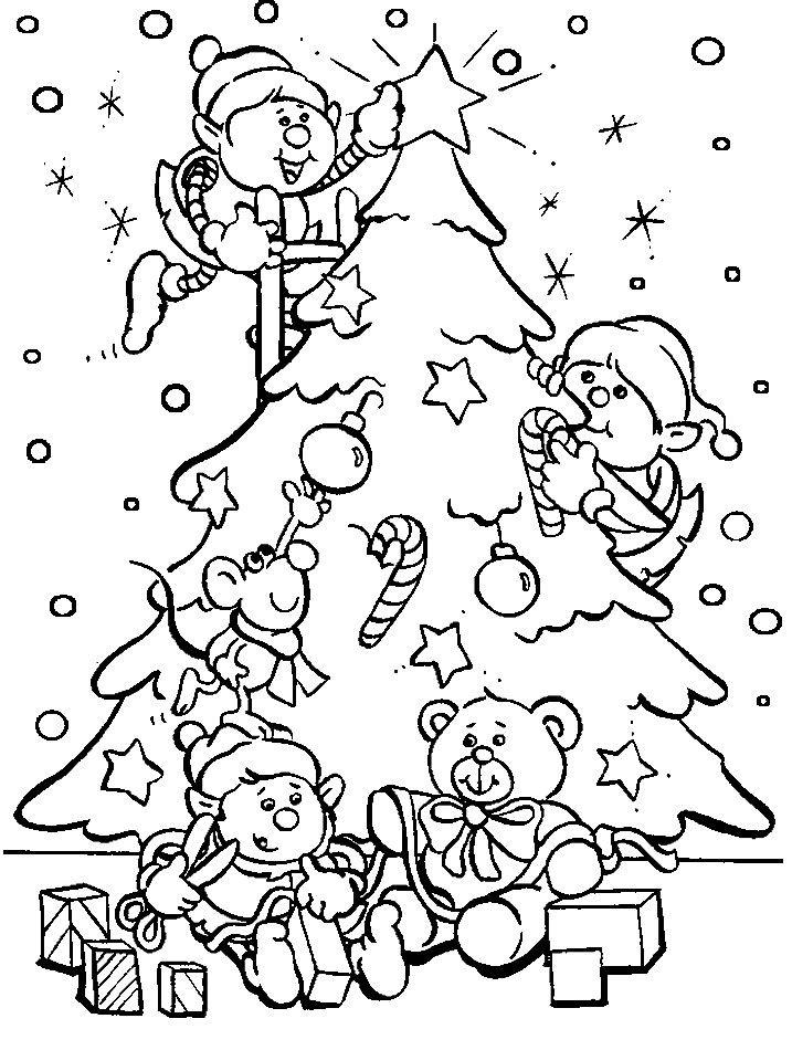Новогодняя раскраска для мальчика 8 лет, распечатать бесплатно
