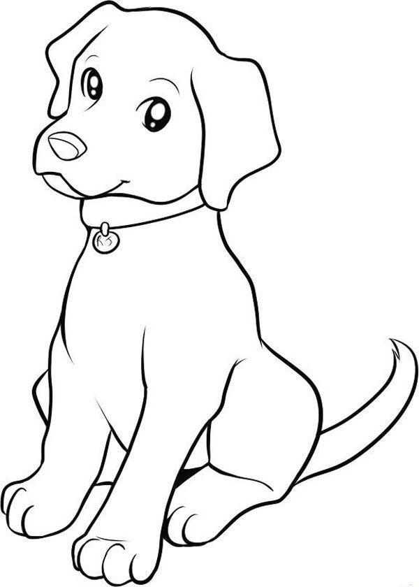 """""""Собаки"""" раскраски для детей. Скачать и распечатать бесплатно"""