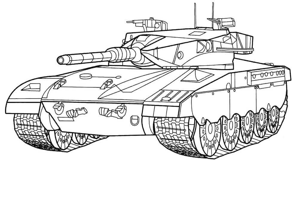 Техника военных лет, раскраска
