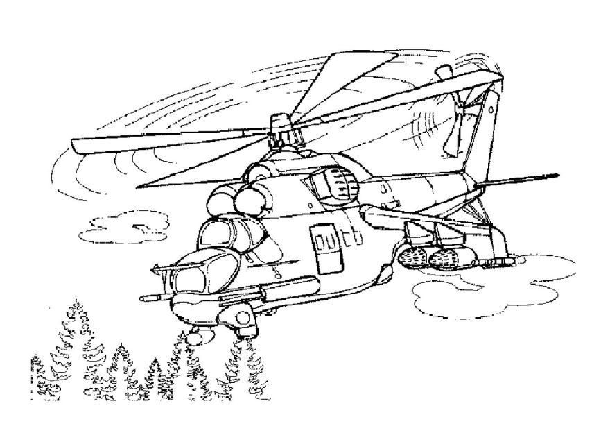 Военные раскраски с военной техникой, распечатать