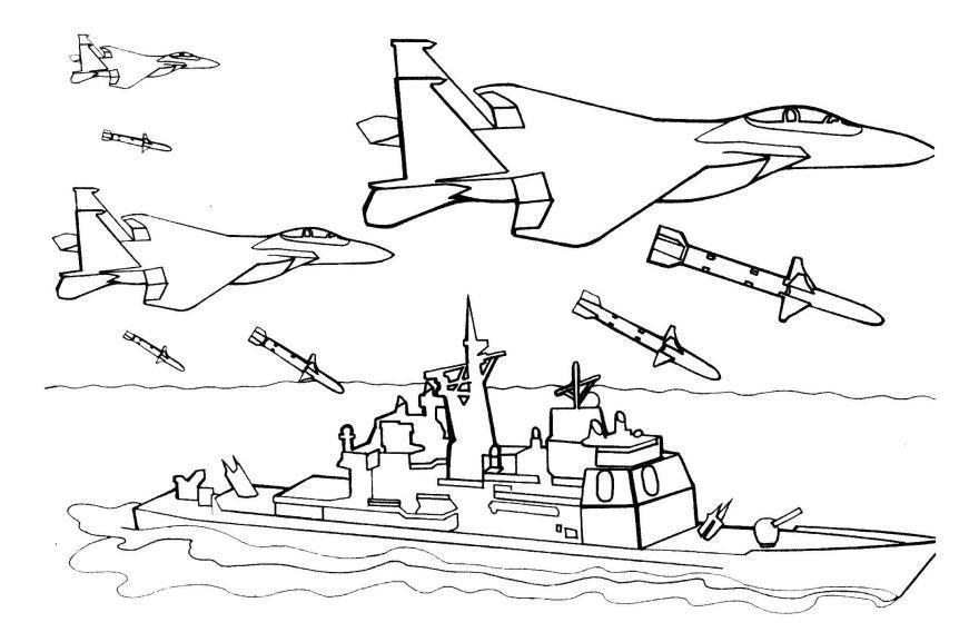 Военные раскраски для детей, распечатать