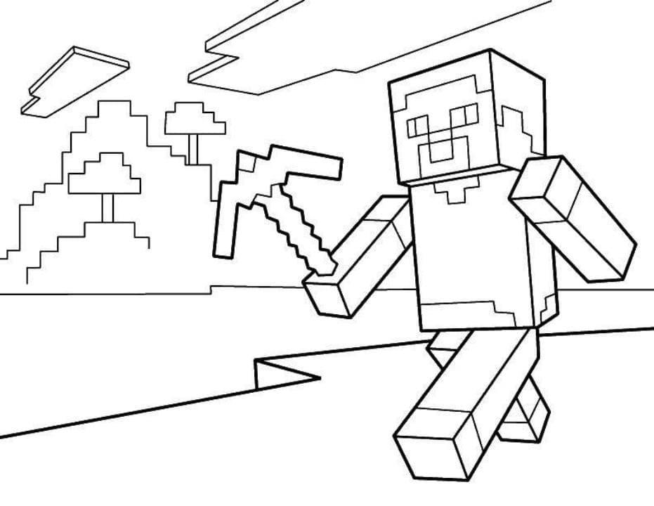 """""""Майнкрафт"""" раскраски для детей. Скачать, распечатать ..."""