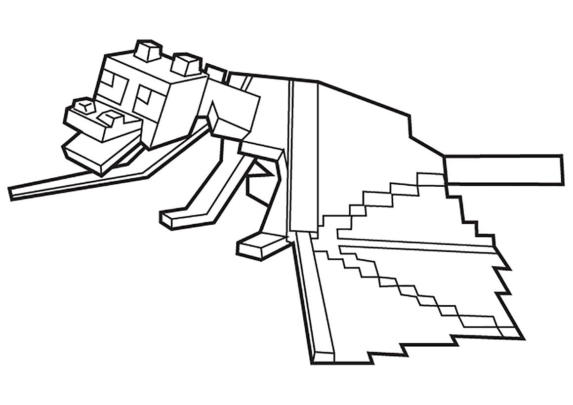 Раскраска Майнкрафт, для детей