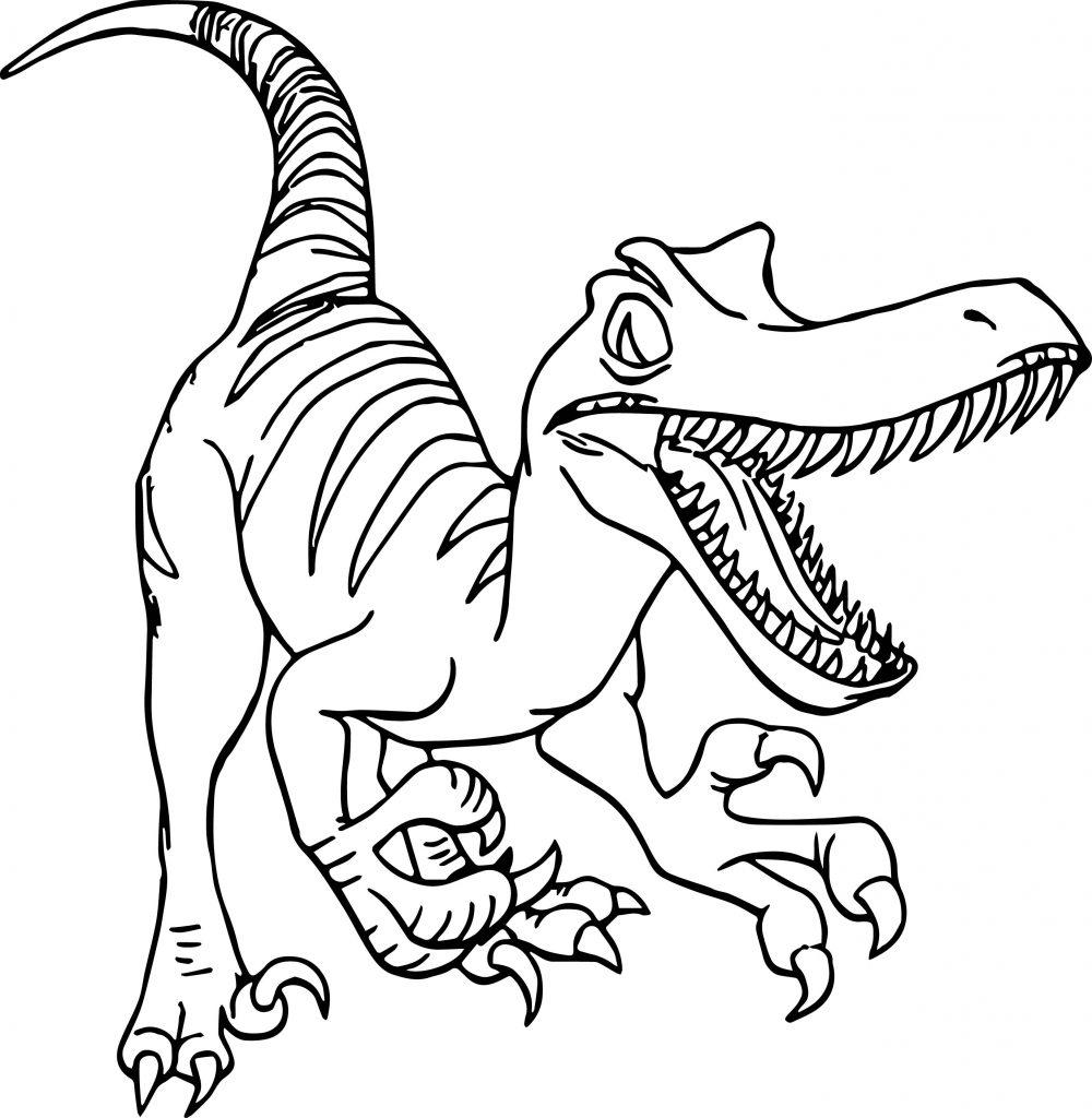 Раскраска динозавры, распечатать бесплатно