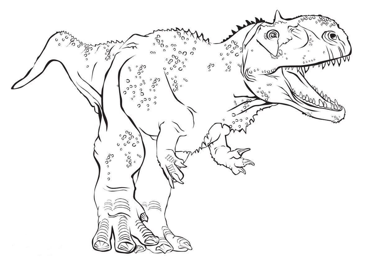 Бесплатные раскраски динозавров