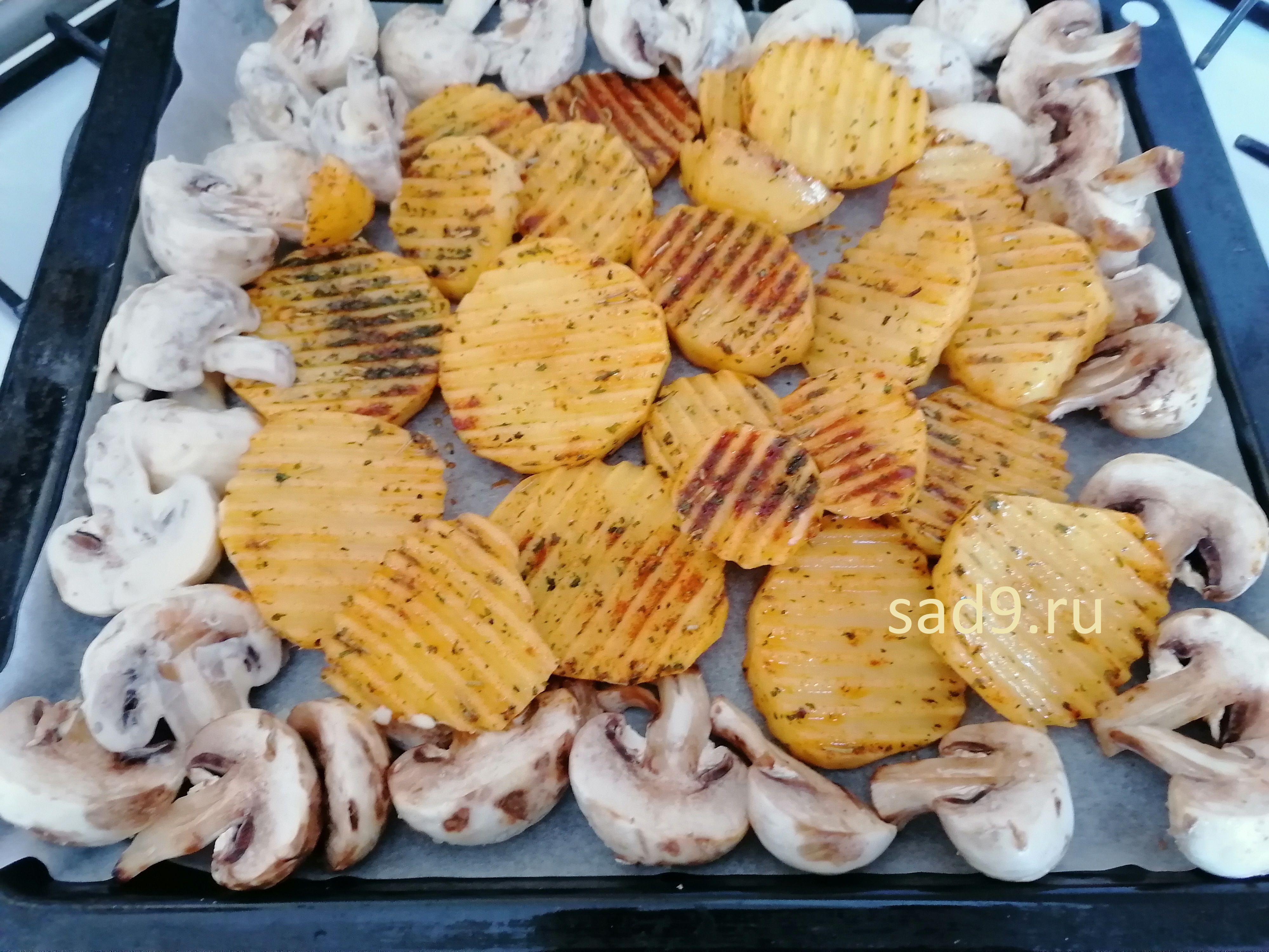 Простой способ приготовления картошки с грибами в домашних условиях